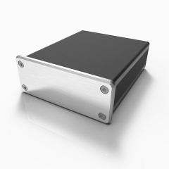 64x23.5-100 small aluminum amp enclosure box for electrical
