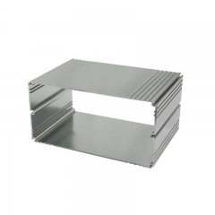 150*75custom aluminum boxes Housing in Blue color surface powder coating